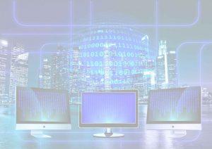 Computer Webdesign Werbung